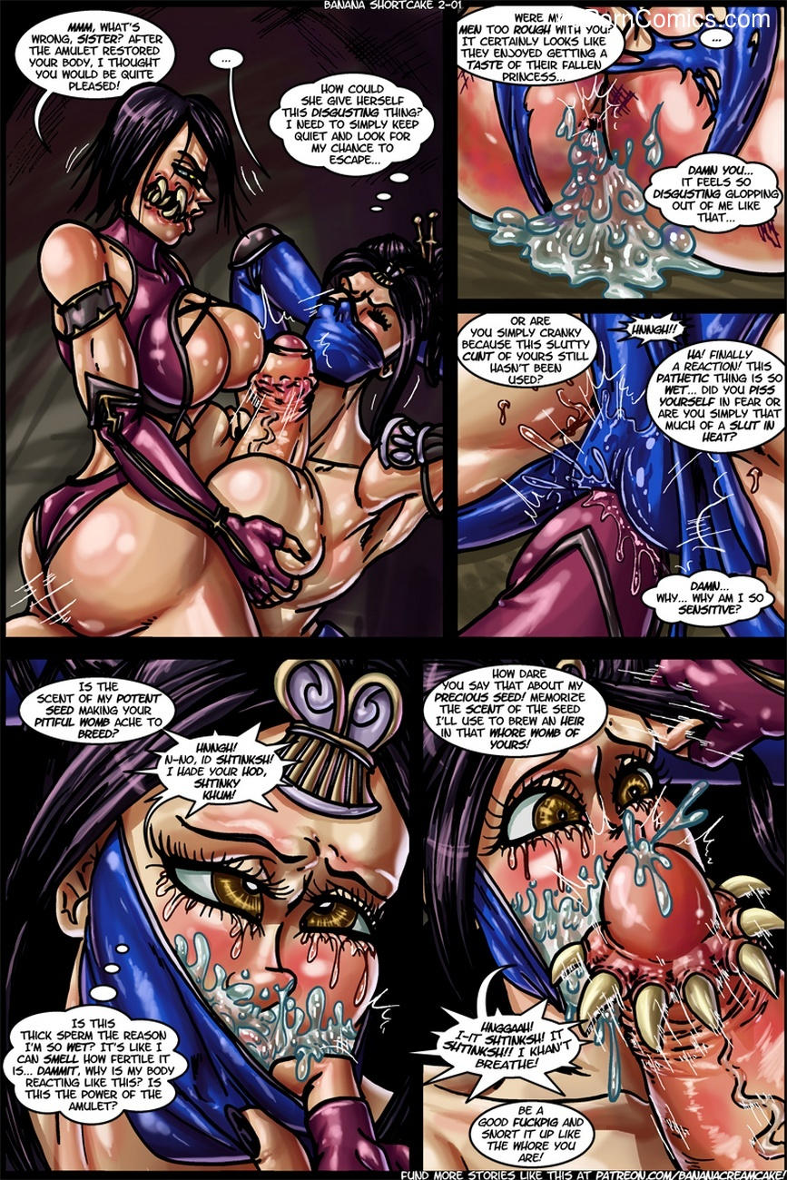 Banana Shortcake 2 - Mortal Kumdump 2 free sex comic
