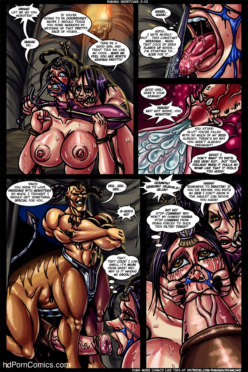 Banana Shortcake 2 - Mortal Kumdump 3 free sex comic