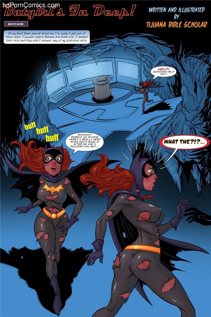 Batman Porno batgirl's in deep sex comic - hd porn comics