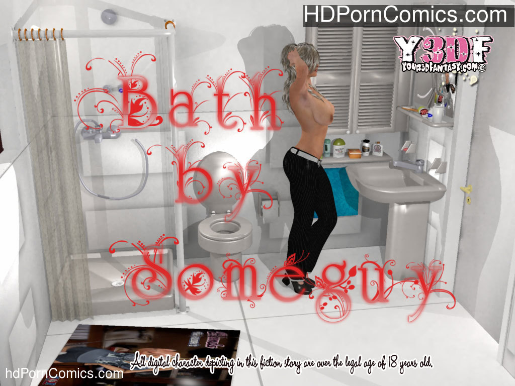 Bath free Porn Comic