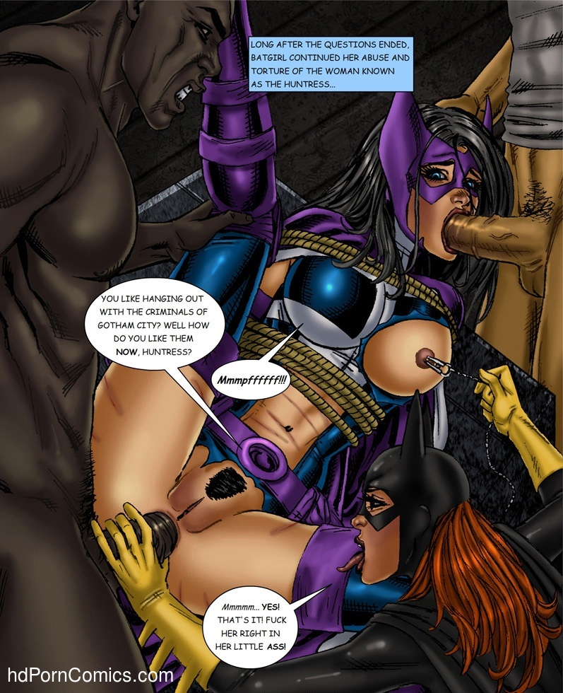 Batman Bondage free Cartoon Porn Comic