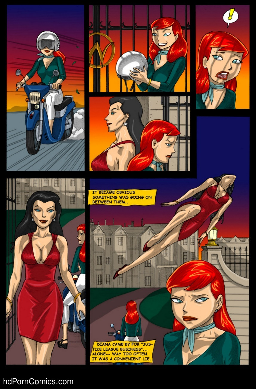 Batman Beyond - Forbidden Affairs 1 14 free sex comic
