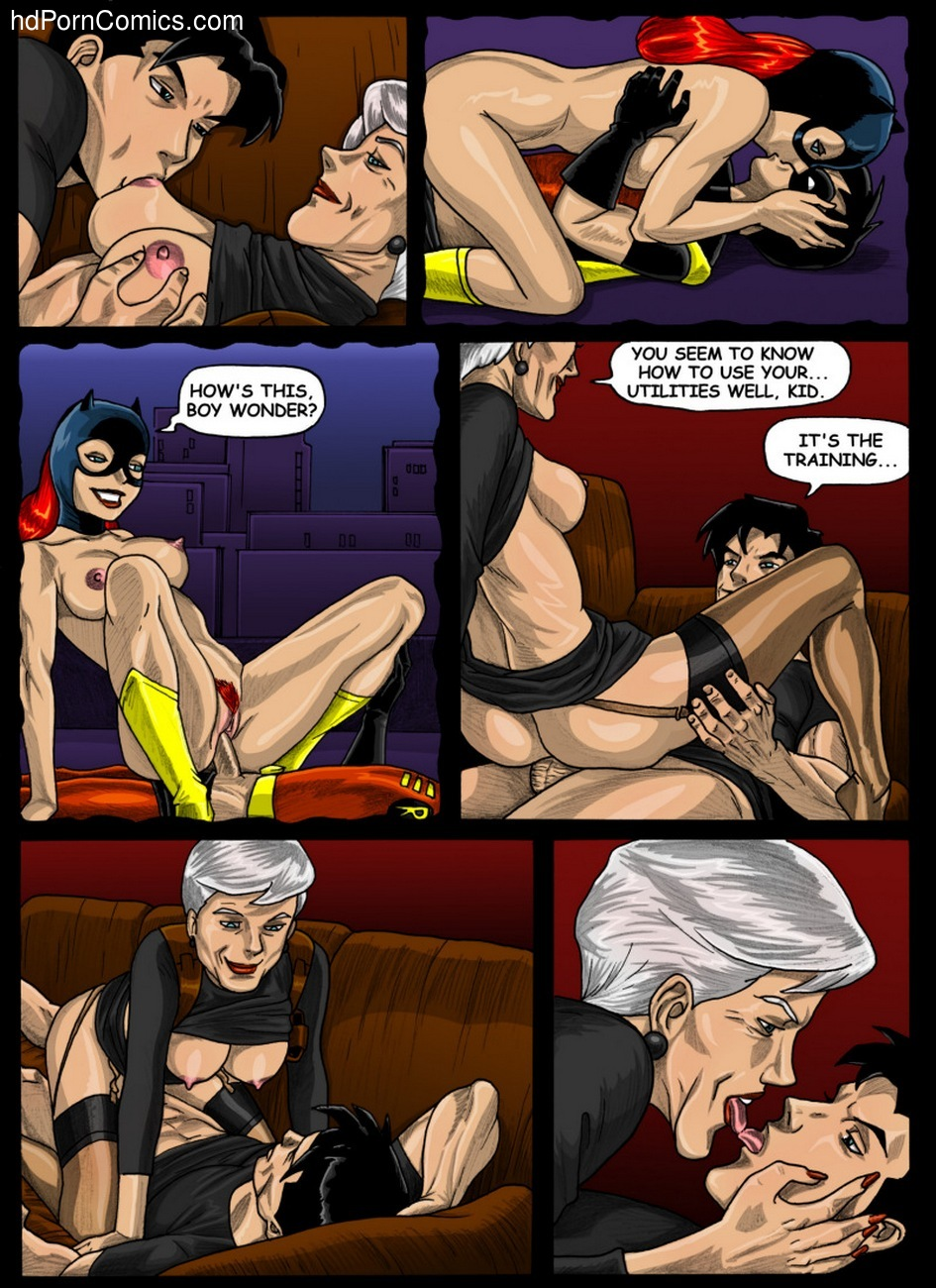 Batman Beyond - Forbidden Affairs 1 22 free sex comic