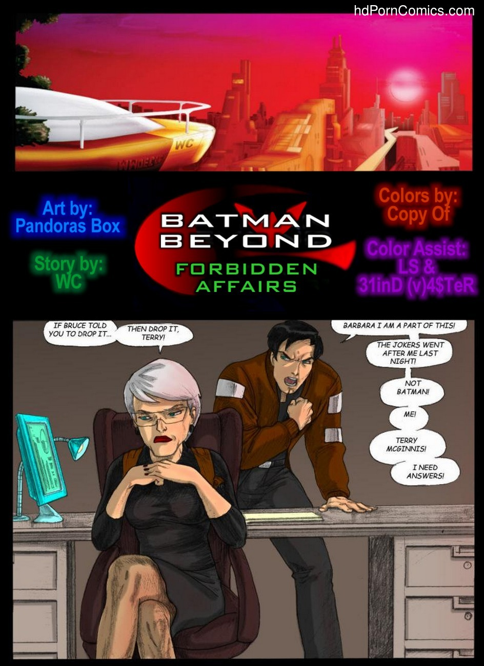Batman Beyond - Forbidden Affairs 1 3 free sex comic