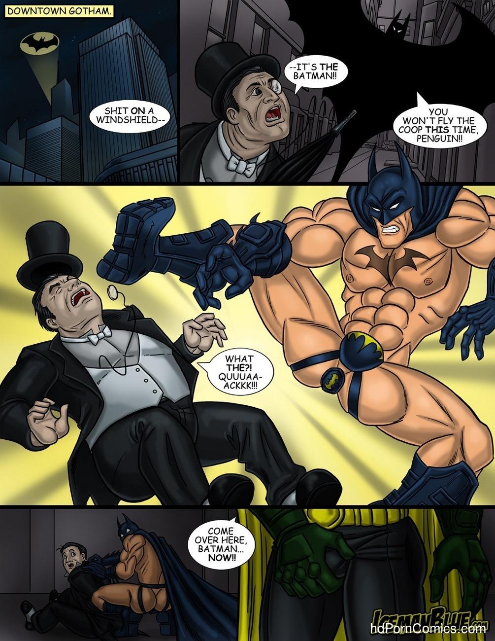 Gay cartoon batman porn