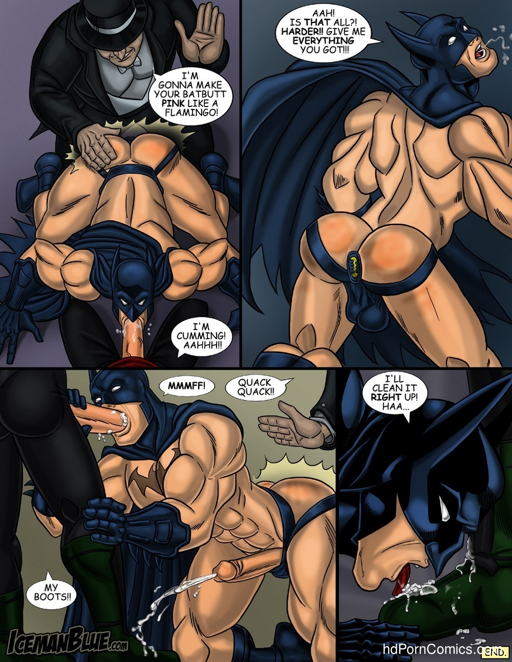 Batman Sex Comic