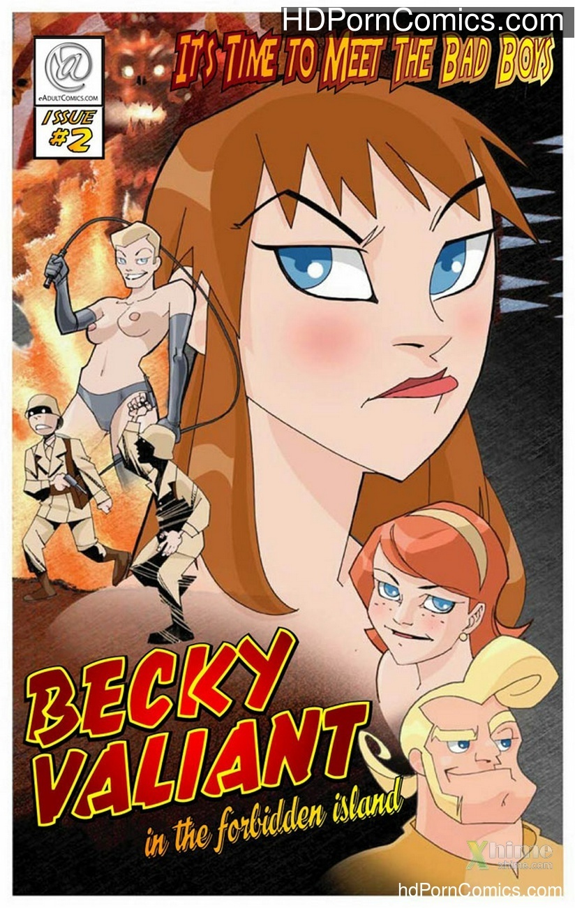 Becky Valiant And The Forbidden Island Sex Comic