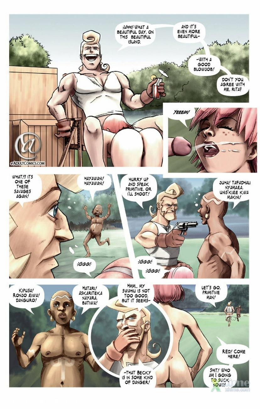 Becky Valiant And The Forbidden Island 4 free sex comic