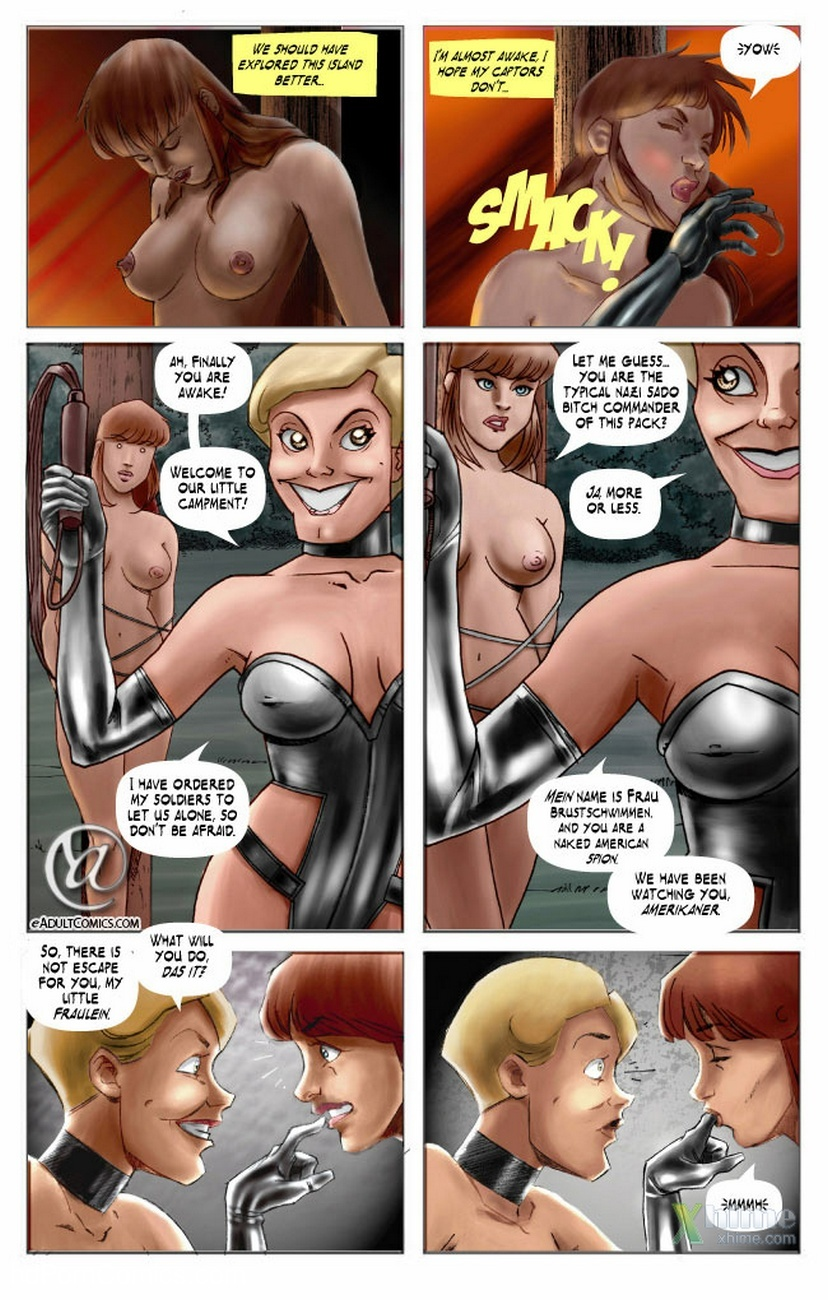 Becky Valiant And The Forbidden Island 5 free sex comic