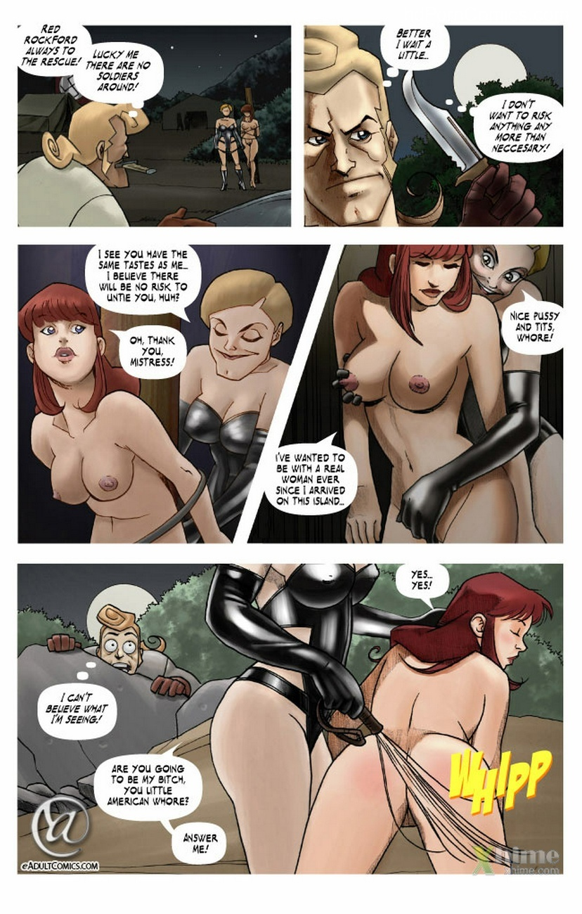 Becky Valiant And The Forbidden Island 6 free sex comic