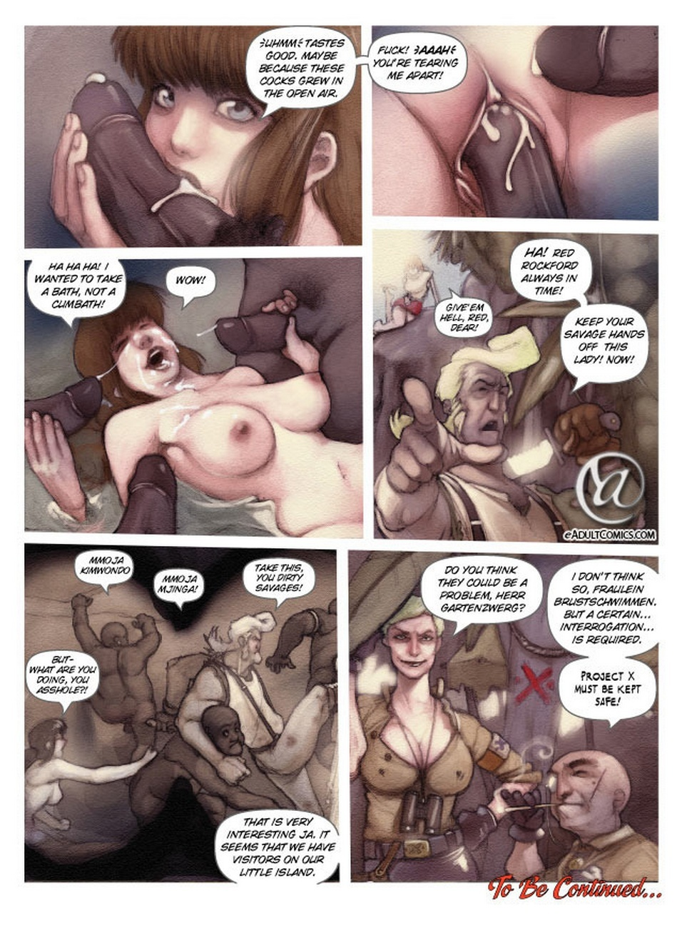 Becky Valient 1 – Stuck Without Luck Sex Comic