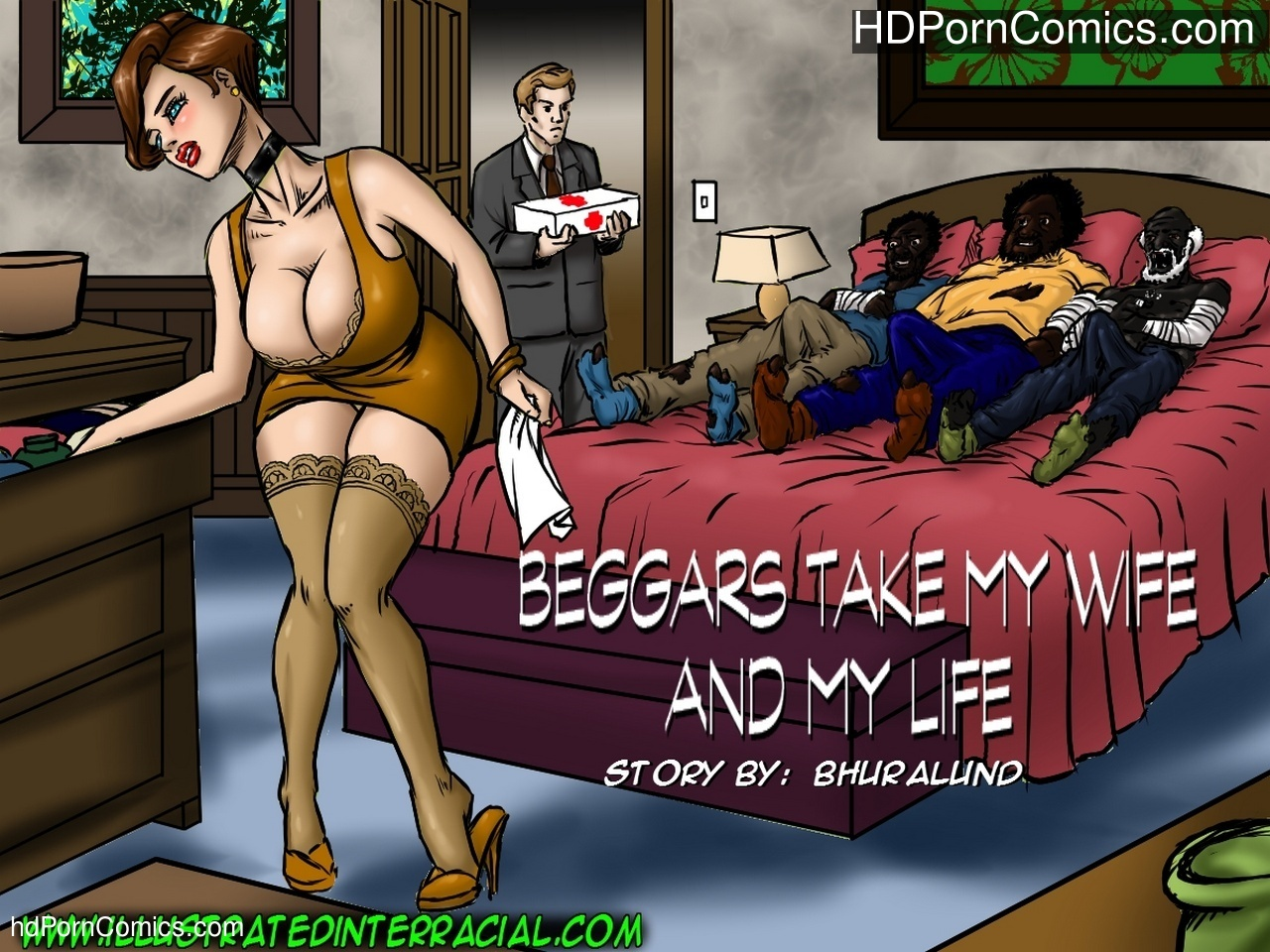 Beggars Take My Wife And My Life Sex Comic