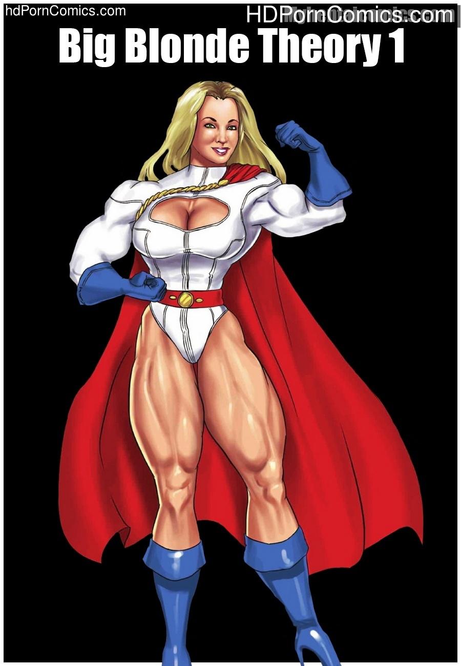 Big Blonde Theory 1 comic porn