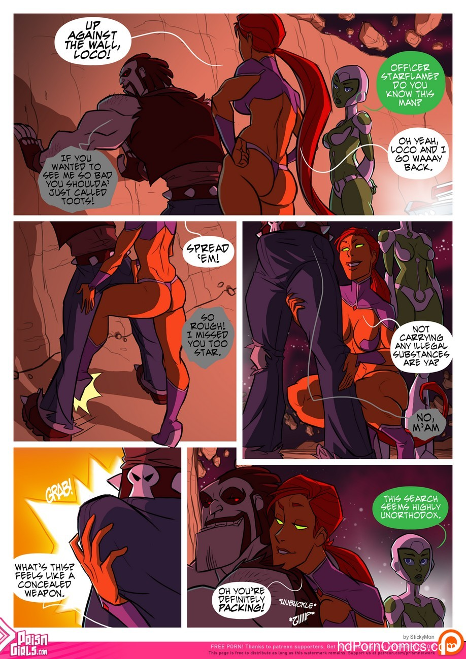Bikini Space Police - Stop And Frisky 3 free sex comic