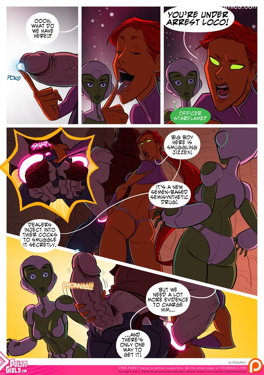 Bikini Space Police - Stop And Frisky 5 free sex comic