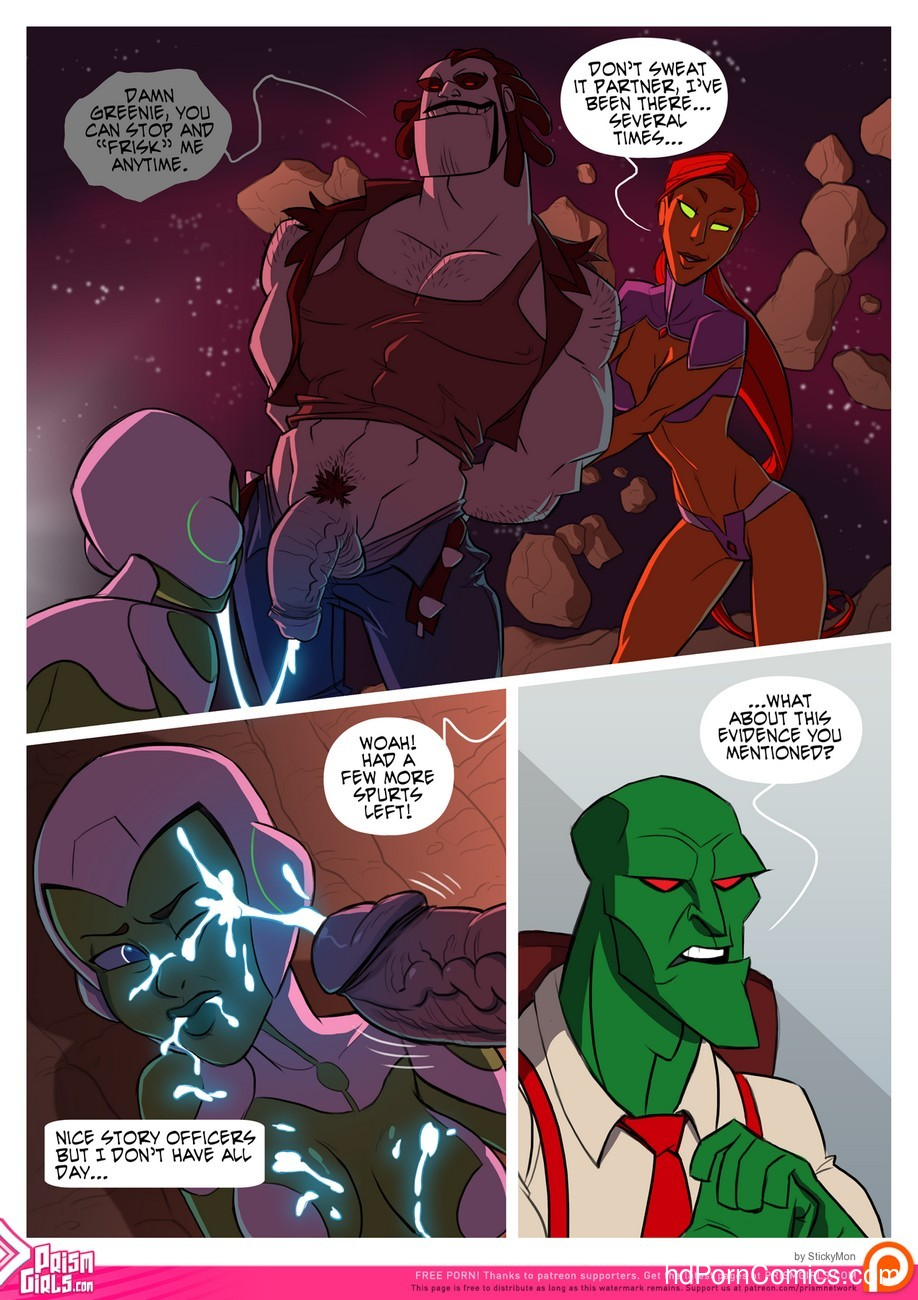 Bikini Space Police - Stop And Frisky 8 free sex comic