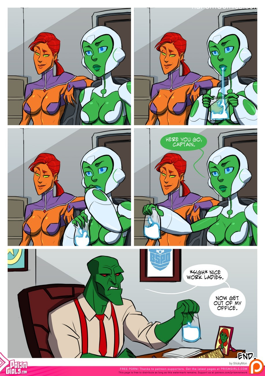 Bikini Space Police – Stop And Frisky Sex Comic