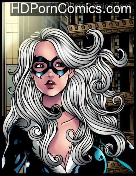 Black Cat meets Venom free Cartoon Porn Comic