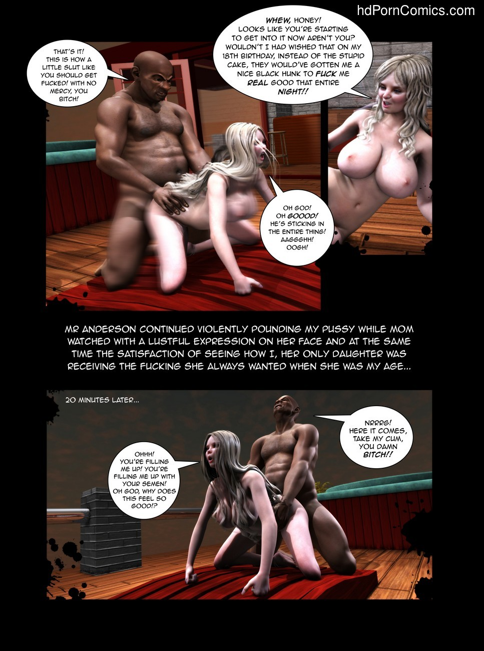 Black Birthday 1 7 free sex comic