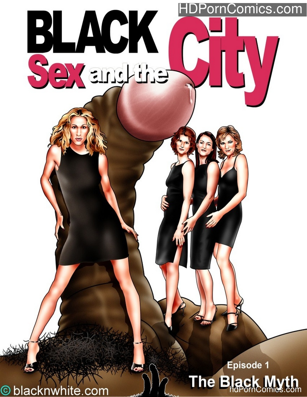 Black Sex And The City 1 free sex comic