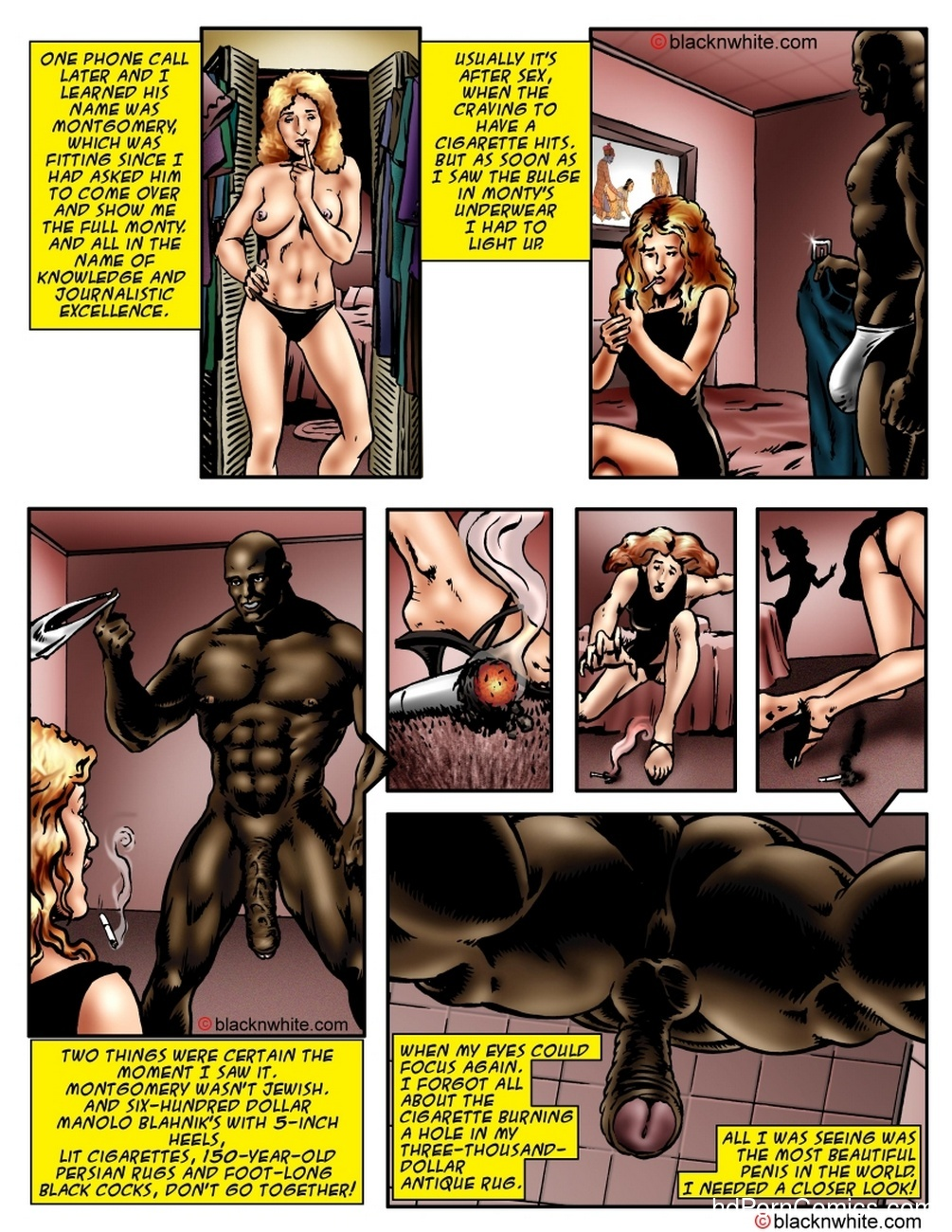 Black Sex And The City 7 free sex comic