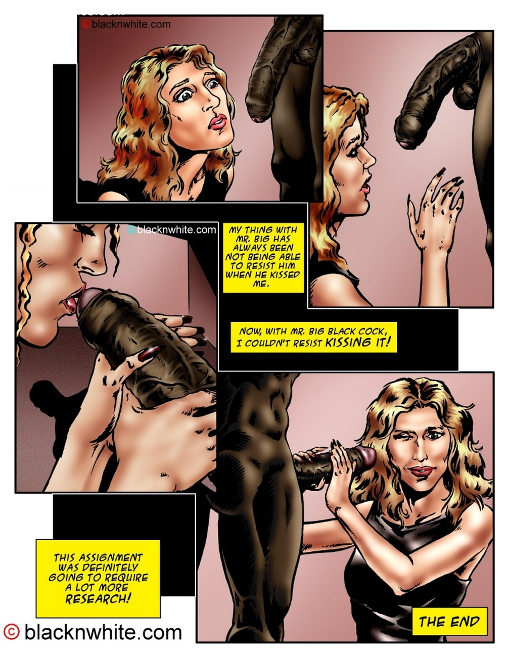 Black Sex And The City Sex Comic
