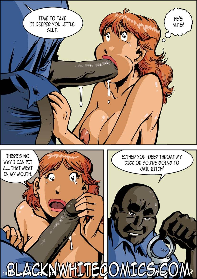 BlackNwhite- Campus Police16 free sex comic