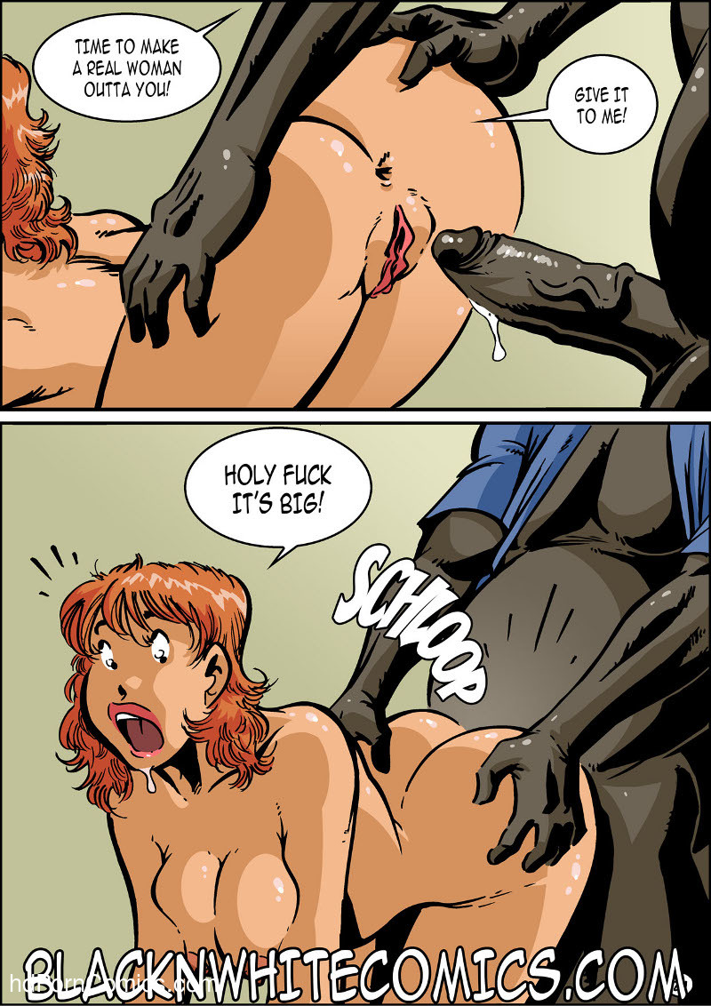 BlackNwhite- Campus Police25 free sex comic