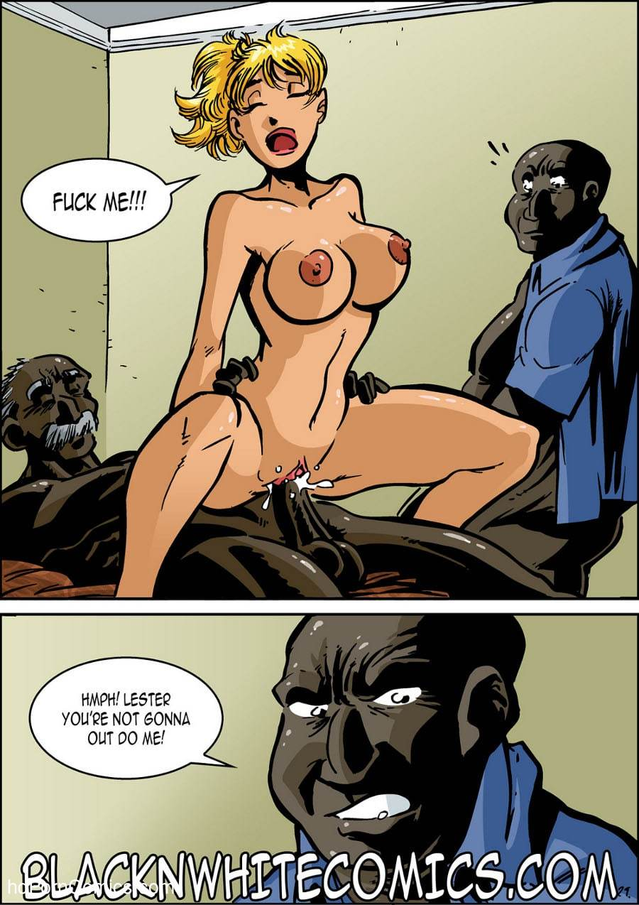 BlackNwhite- Campus Police30 free sex comic