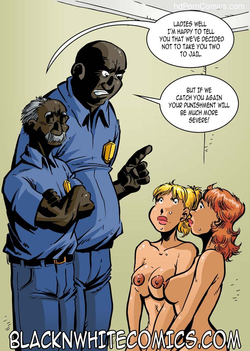 BlackNwhite- Campus Police36 free sex comic