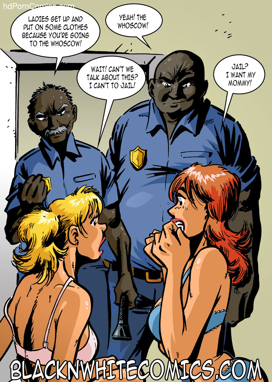 BlackNwhite- Campus Police6 free sex comic
