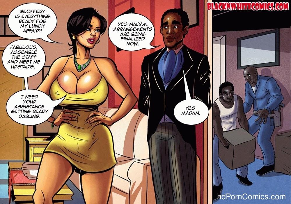 Housewife Cartoon Porn Comics - ... BlackNwhite- Housewives of Beaverton3 free sex comic