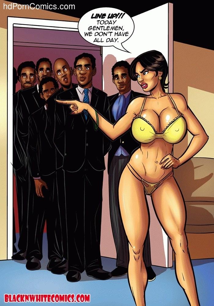 Housewife Cartoon Porn Comics - ... BlackNwhite- Housewives of Beaverton4 free sex comic