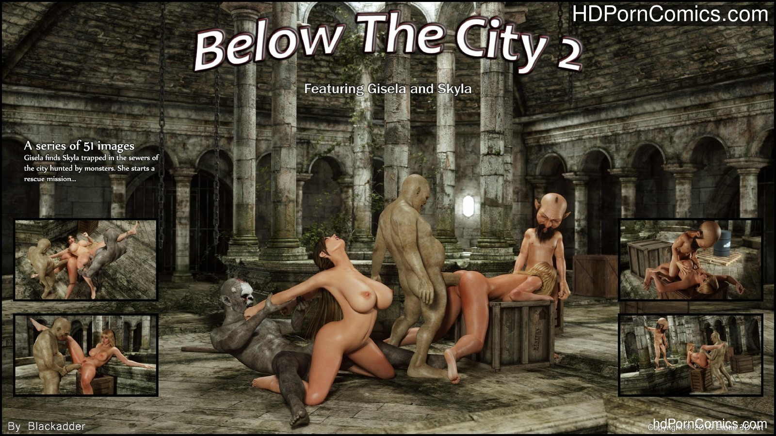 Blackadder- Below the City 2 free Porn Comic
