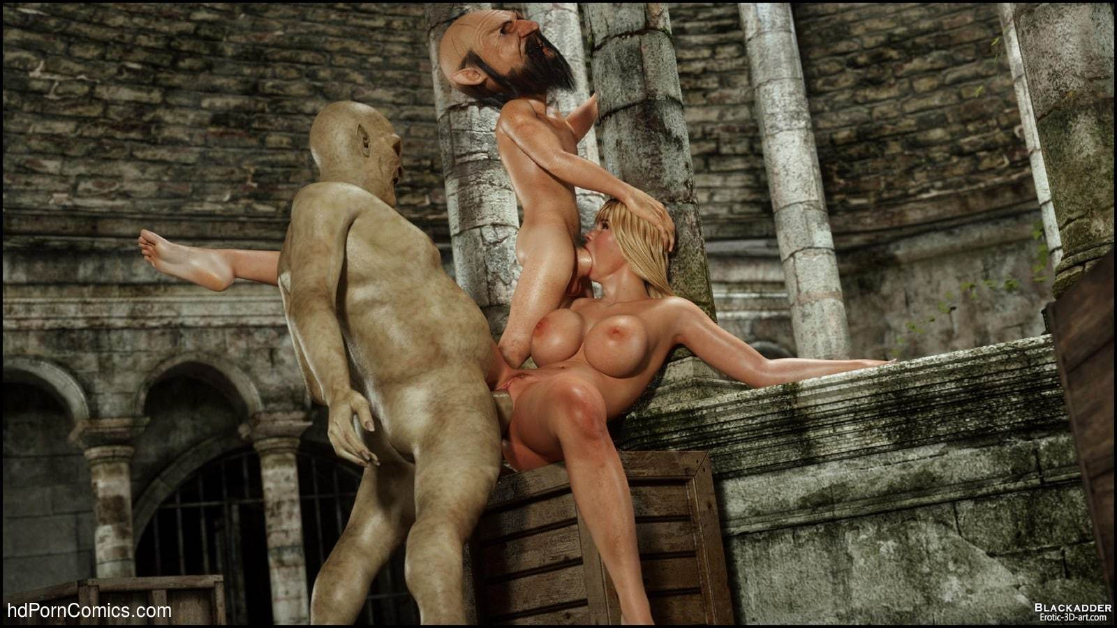 blackadder  3D  porno Below the City