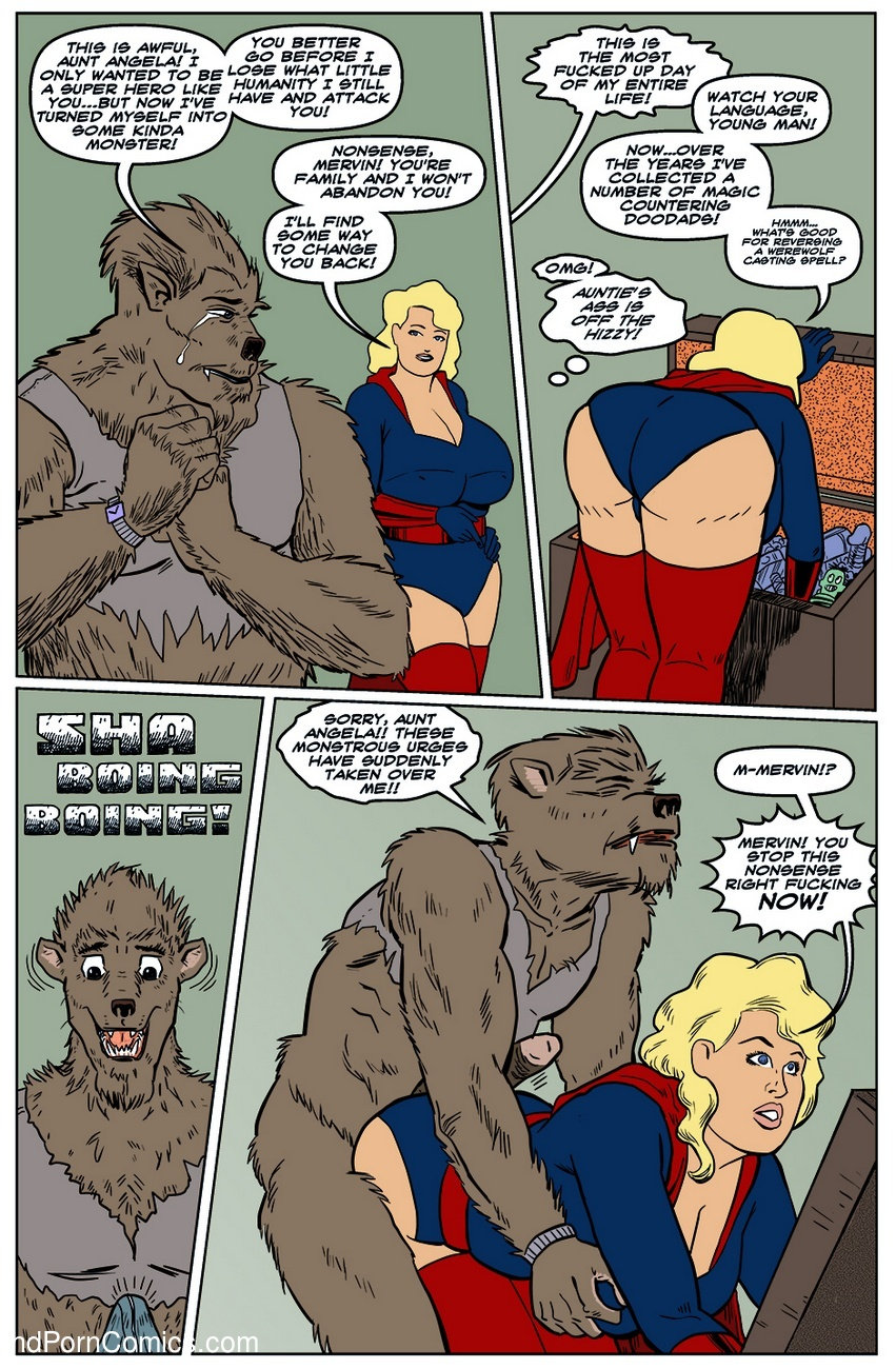 monster comic porn