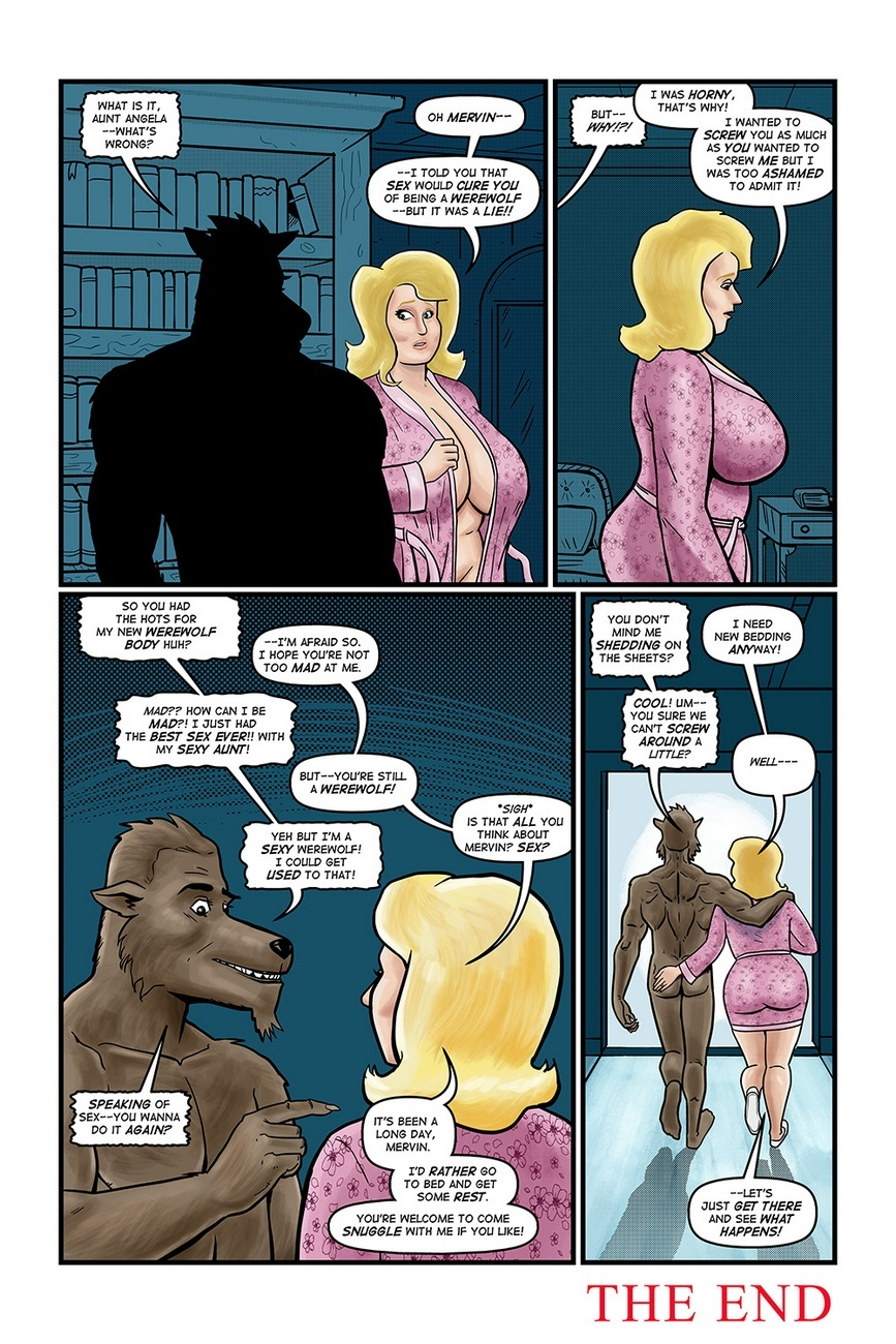 Blonde Marvel – Mervin The Monster Sex Comic