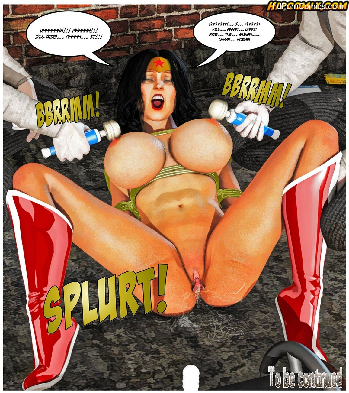 Blunder Woman 2 Sex Comic