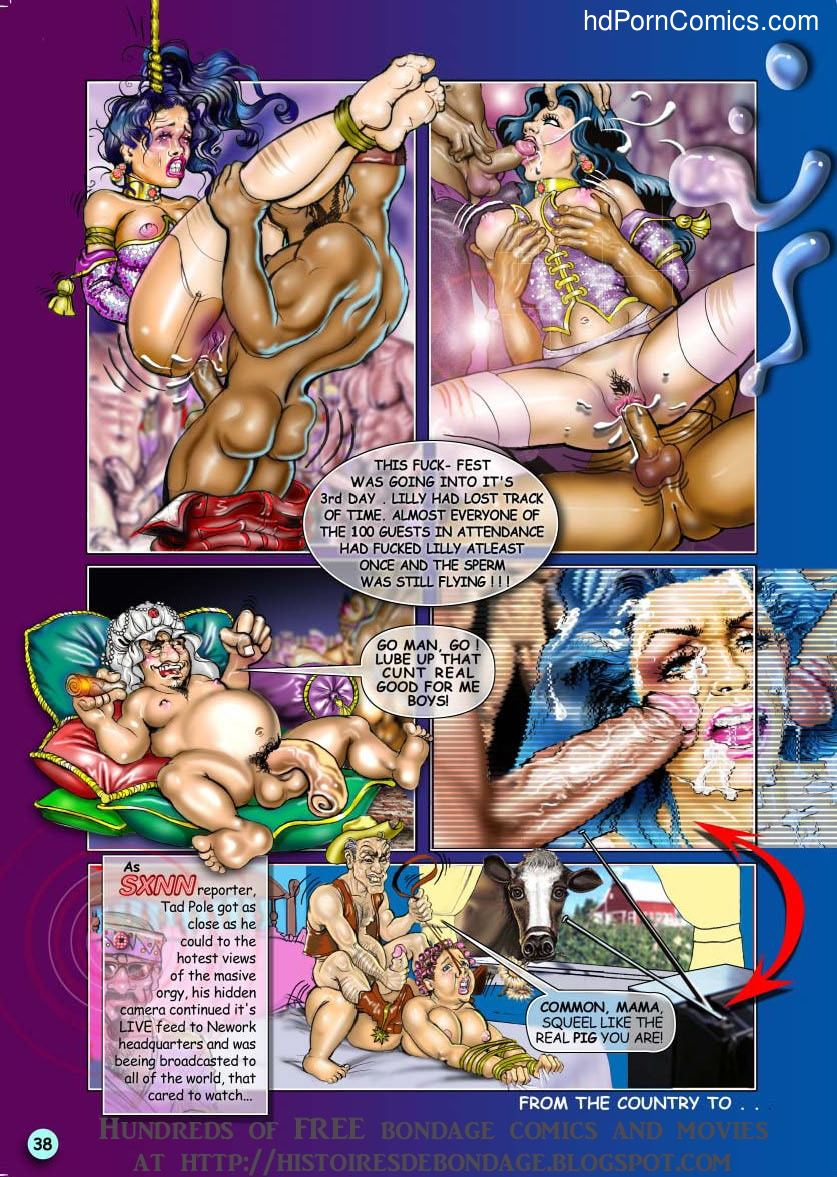 Bondage Adventures of Lilly39 free sex comic