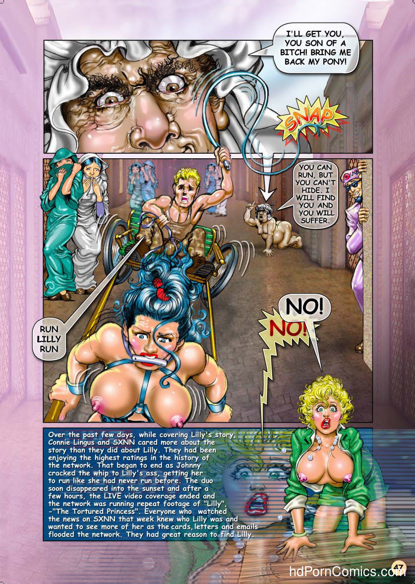 Bondage Adventures of Lilly48 free sex comic