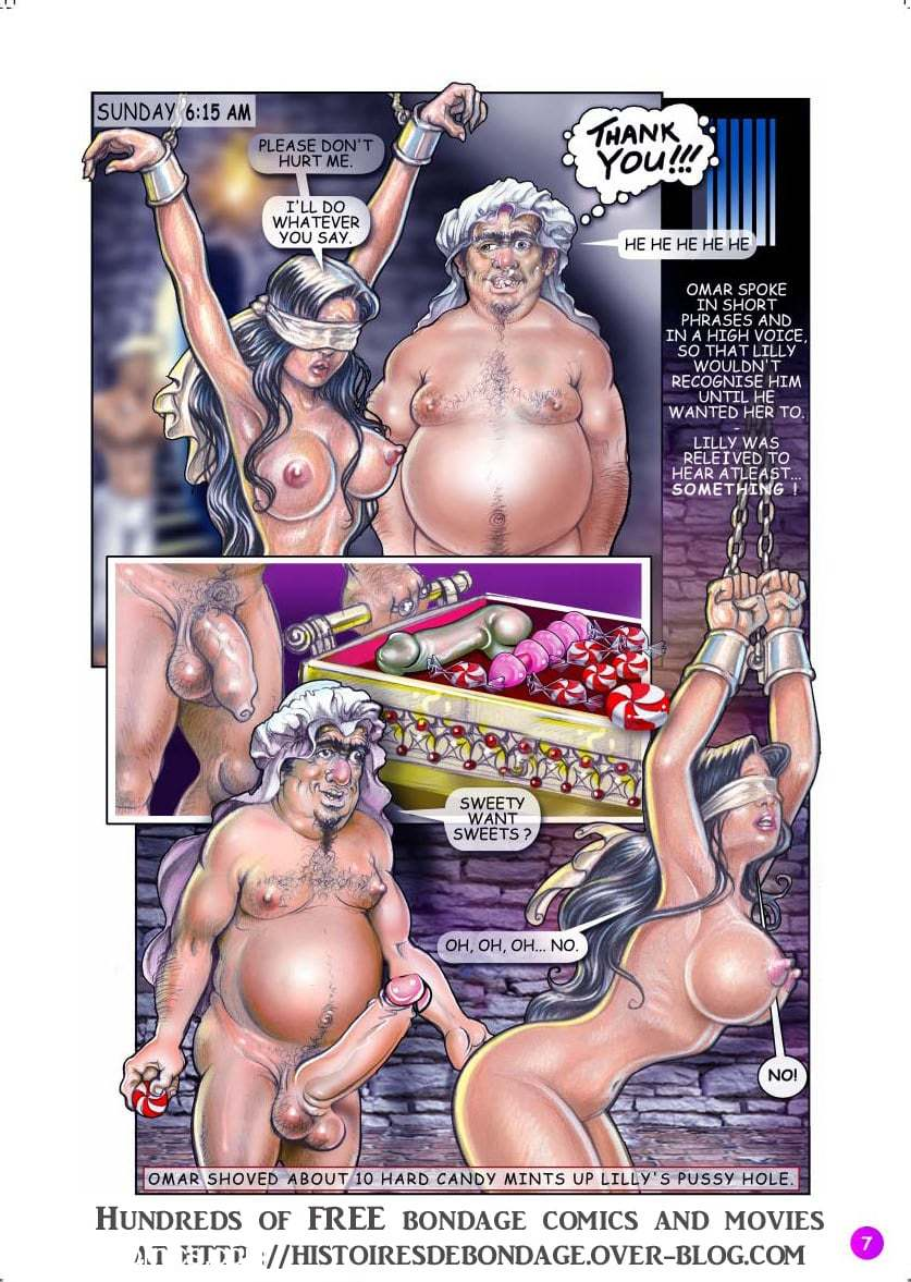 Bondage Adventures of Lilly8 free sex comic