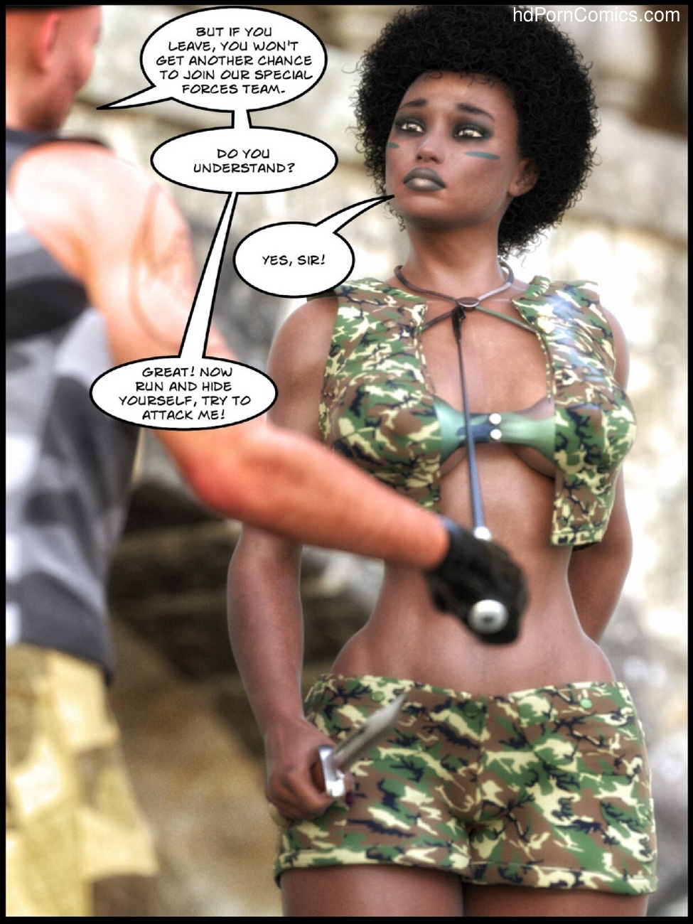 Bootcamp From Hell 4 free sex comic