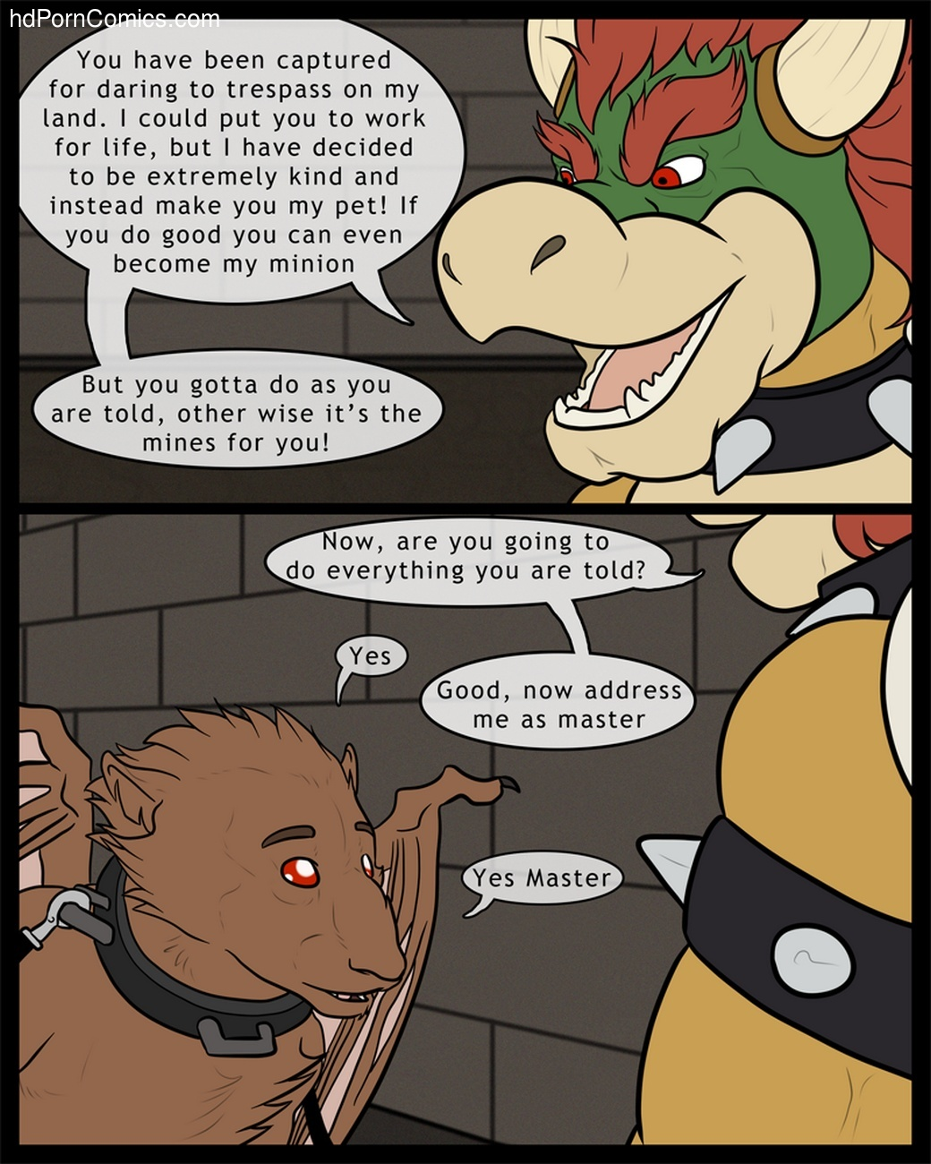 Bowser's Pet 1 5 free sex comic