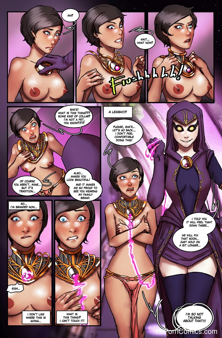 Brand New World 1 Sex Comic