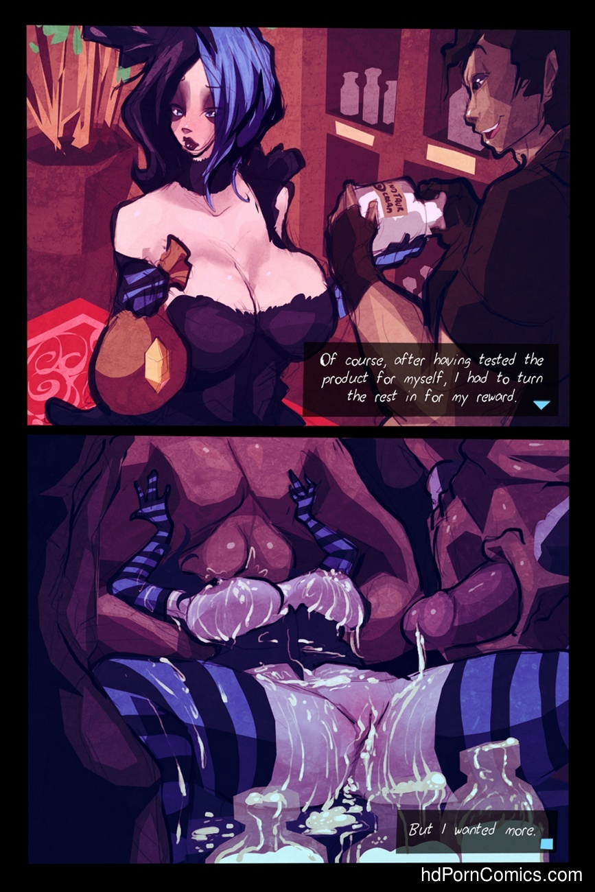 Brea's Cream Quest Sex Comic