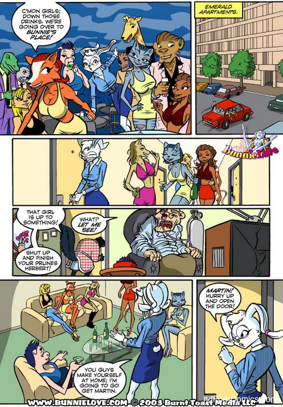 Bunnie Love 2 6 free sex comic