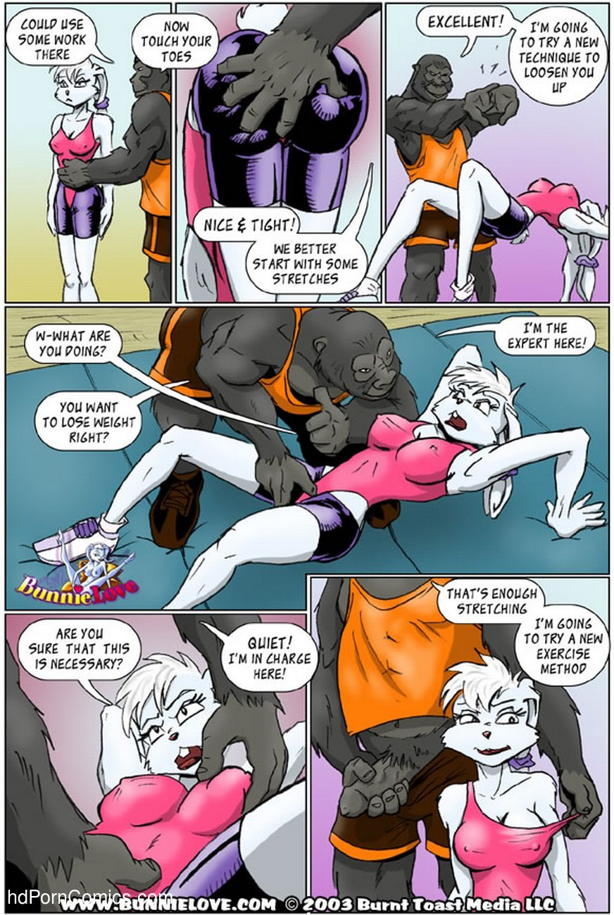 Bunnie Love - Wicked Workout 4 free sex comic