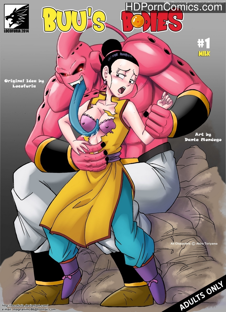 Buu's Bodies Sex Comic