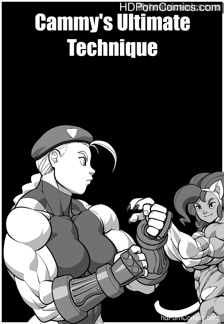 Cammy's Ultimate Technique Sex Comic