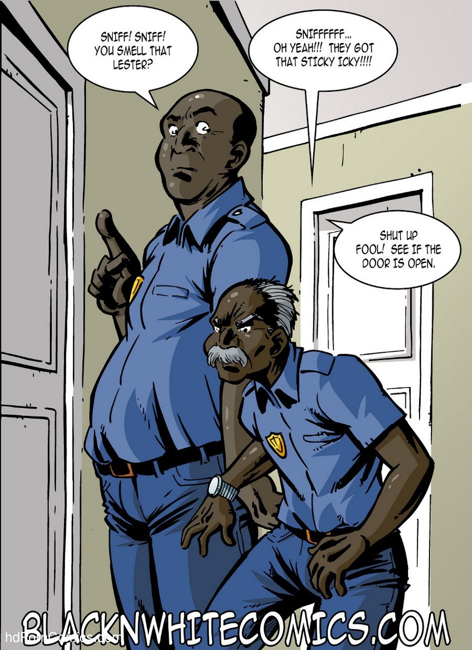 Campus Police 3 free sex comic